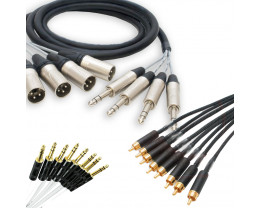 Create your own Multicore TRS/MINI-TRS/RCA cable