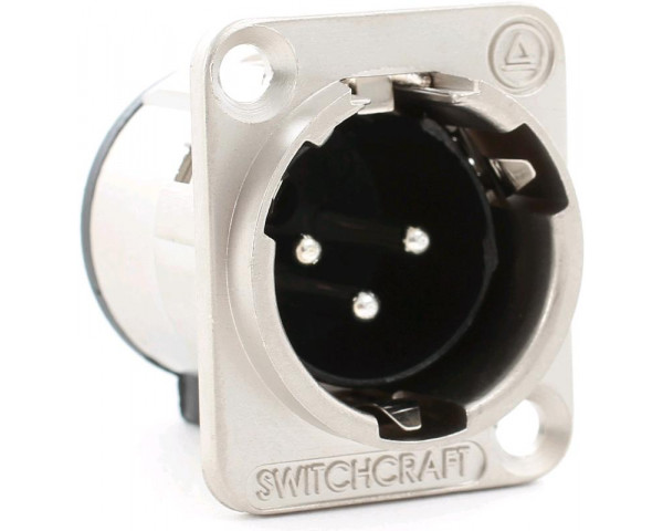 SWITCHCRAFT E3MSC CONN. DA PANNELLO XLRM