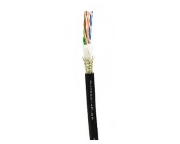 CANARE RJC6-4P + ETHERNET CABLE CAT6 SHIELD